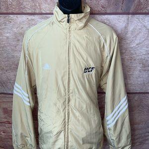 Adidas track jacket ucf knights mens large